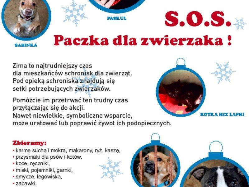S.O.S. Świąteczna paczka dla zwierzaka!