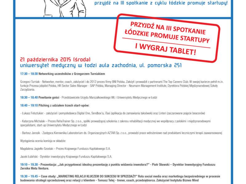 Łódzkie promuje startupy!